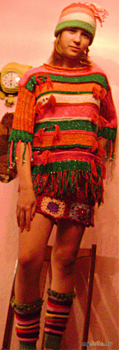 шапочка свитер и гетры
