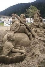 Композиции из песка