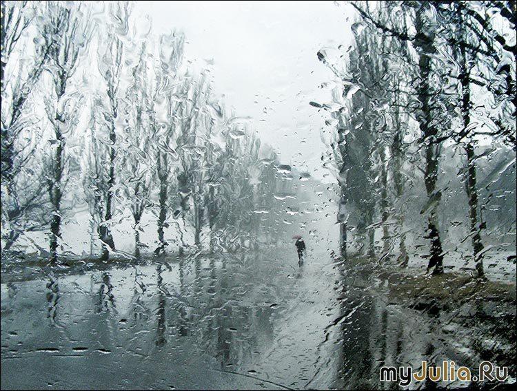 дождь и женщина картинки