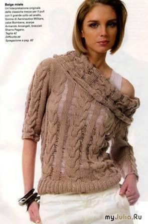 вязание спицами модели и