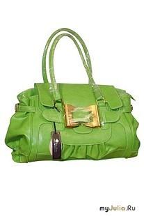 Зеленая сумка.