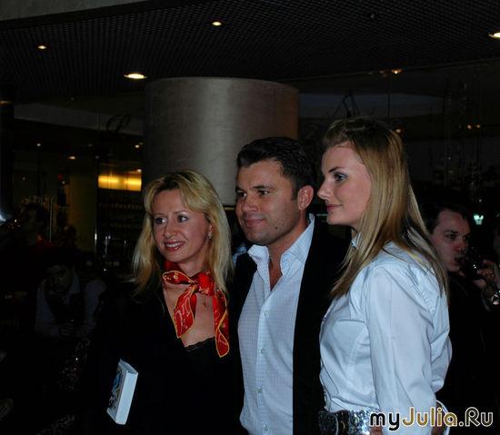 Олег Рой с гостями вечера