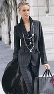Форма одежды - деловой костюм