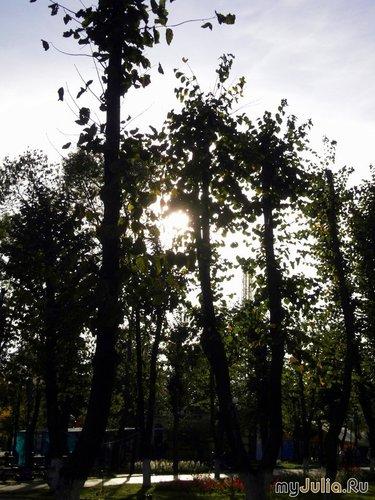Закат в октябре