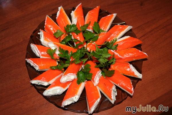 Салат из крабовых палочек рецепты