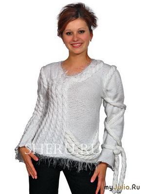 вязанные свитера женские. Всё о модной