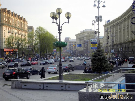 Киев, Крещатик.