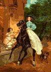 Королева на коне