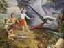 Кришна и демон Бакасура