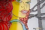 Мастер-класс или дополнение, роспись стекла «Витражными красками»
