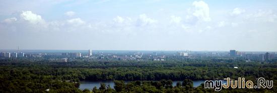 Панорама с Паркового моста