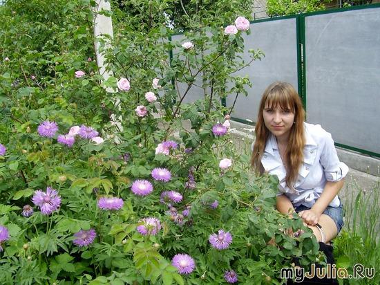 Мой цветочек в цветочках
