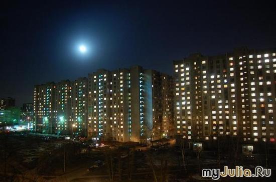 луна в Бескудниково