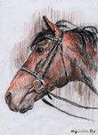 Сто тысяч коней под капот я запрятал, а прадед всегда успевал на одной…