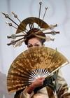 Палочки для волос или история развития японской прически