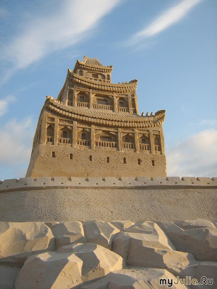 """Предпросмотр - Схема вышивки  """"Китайская пагода """" - Схемы автора  """"Kica """" - Вышивка крестом."""