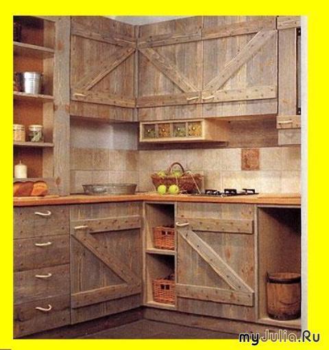Интерьер дачной кухни фото
