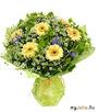 букет желтые цветы