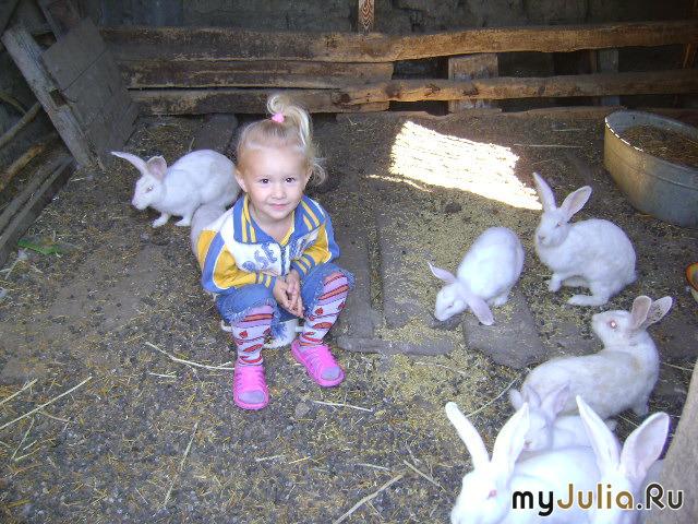 Мелани и кролики