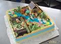 торт городок