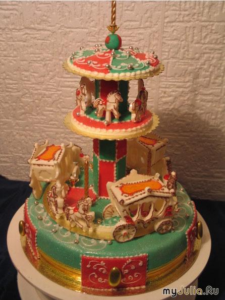 Торт с каретой