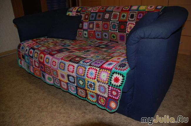 Лоскутное шитье одеяло из квадратиков - Шитье в картинках.