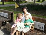 Я ,мой сын и внучка!