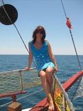 На яхте.)