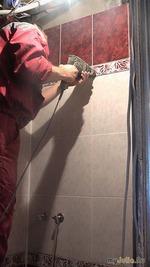 Отремонтированная ванная комната: все по полочкам