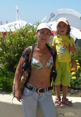 В Сочи с дочуркой - 2008 год!