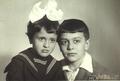 С братом, 1964 г.