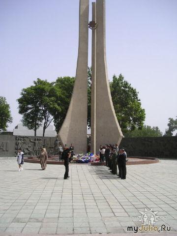 вокзальная площадь Монумент Славы