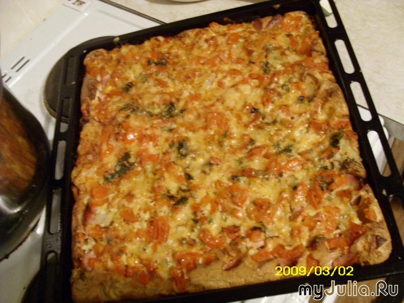 Пицца быстрая рецепты и кулинария