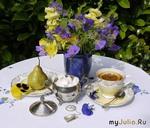 Чай со сливой и женьшенем