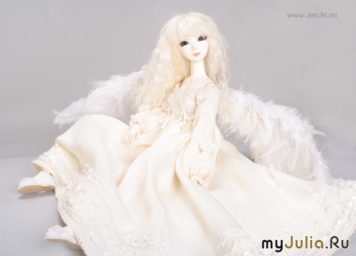 Куклы шарнирные из холодного фарфора