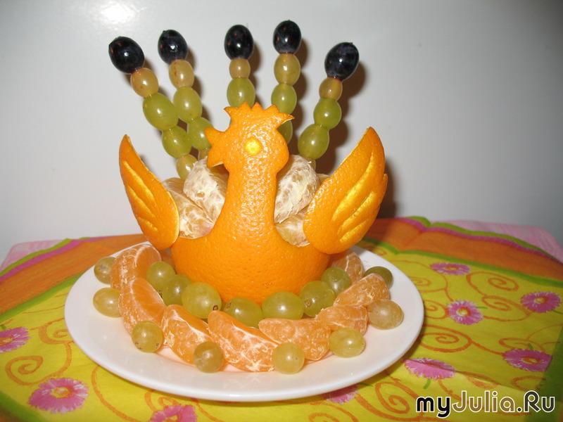 Поделка из апельсина в детский сад 5