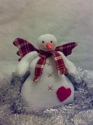 Снеговик Тильда от Иры,моими руками.