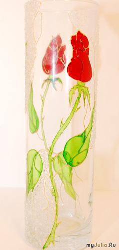 Ваза «Нежность Розы»