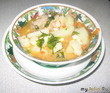 Суп-соус со свиными рёбрышками