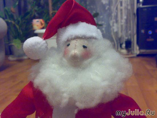 Дед Мороз -крупный план