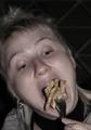 Когда я ем, я глух и нем!
