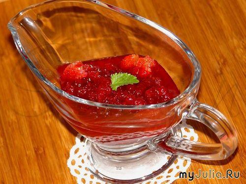 ягодные соусы к мясу рецепты видео