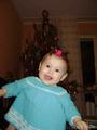 У моей доченьки новогоднее настроение!