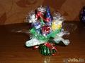 Новогодний конфетный букетик
