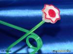 Цветок из красной редьки. Мастер-класс