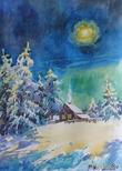 """Лесные сказочки Января (из книги """"Все мечты сбываются- лишь стоит захотеть!"""")"""