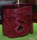 Феям световых эффектов на дому (мастер класс по изготовлению ажурных и кружевных свечей)