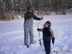 Зимняя рыбалка.