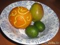 Резной апельсин