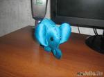 голубой слон!
